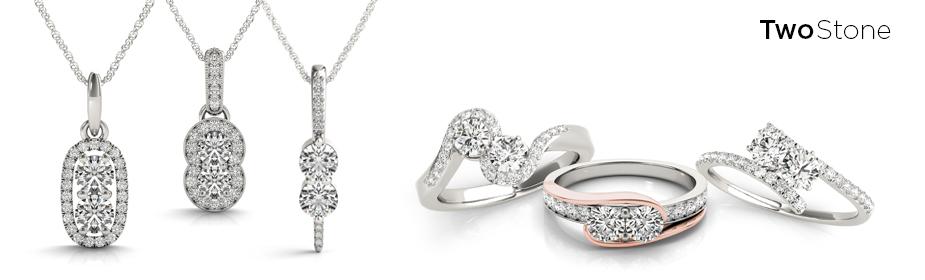 Two-Stone Jewelry