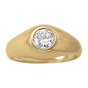 GENTS RING SOLITAIRES