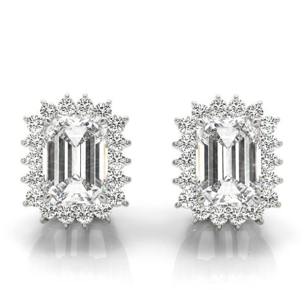 EARRINGS COLOR EMERALD MATCH 81585