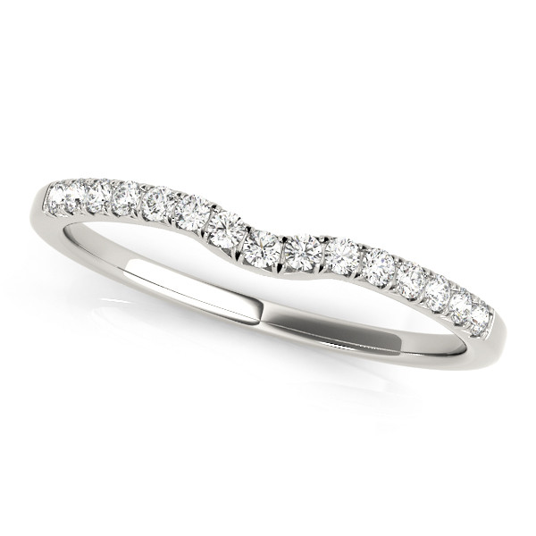 WEDDING BANDS CURVED BANDS