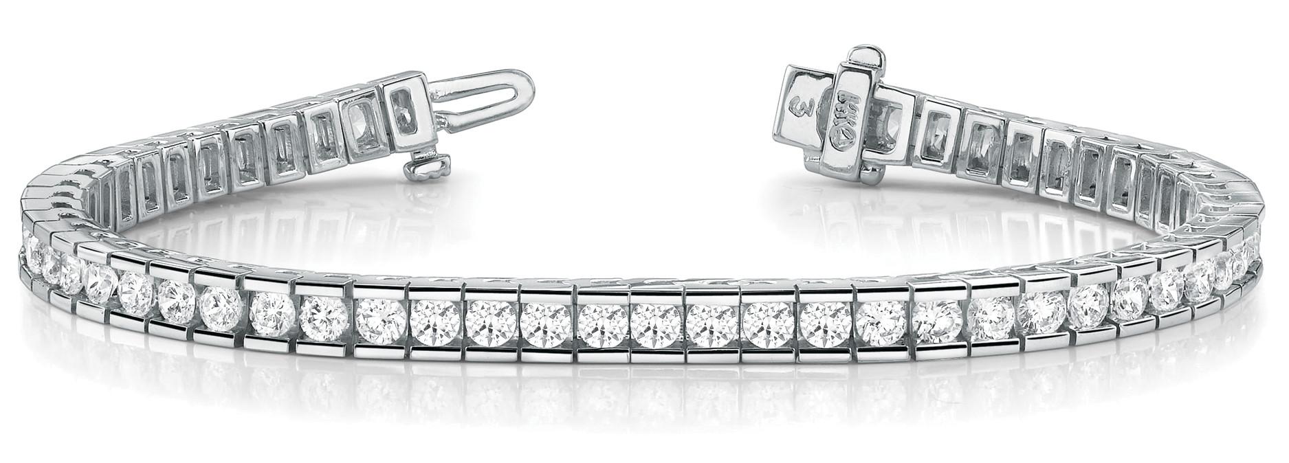 Bracelet In Line Channel Set