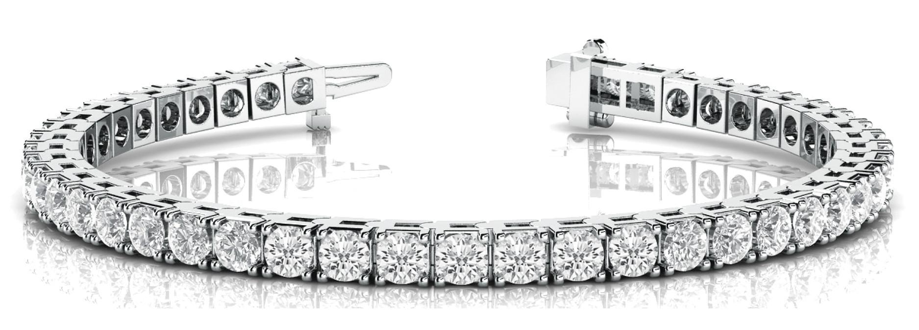 Bracelet In Line Prong Set