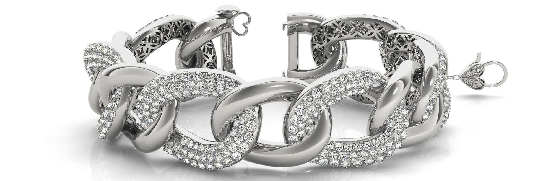 Bracelet Italian Made <p></p><p>Length - 7.25 Inch</p><p>Width - .75 Inch</p>