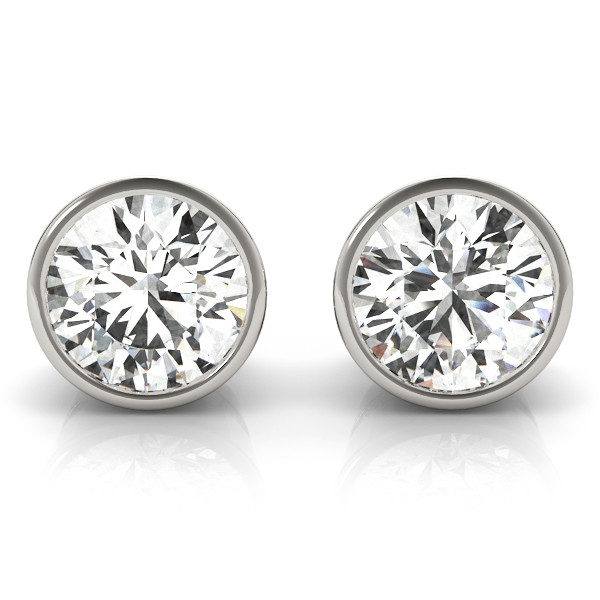 0.1CT TPRED BEZEL EAR / A