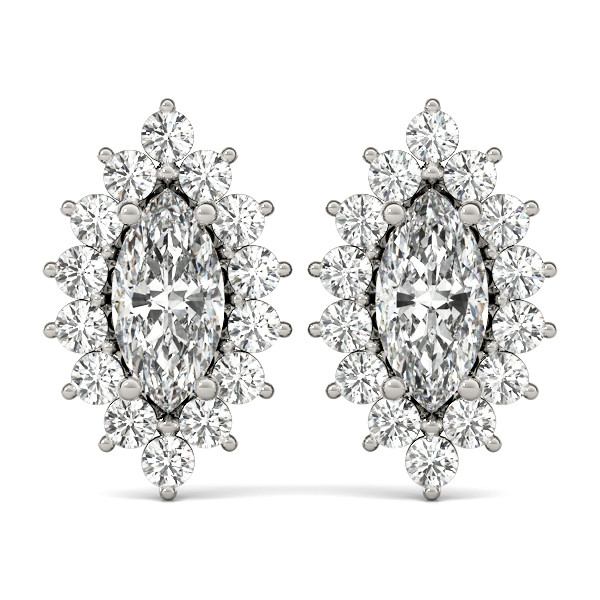 EARRINGS COLOR MARQUISE