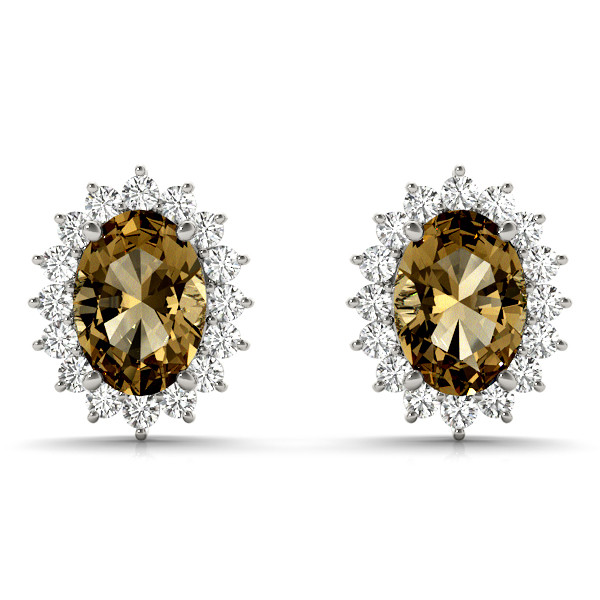 EARRINGS COLOR OVAL MATCH 30187,80608
