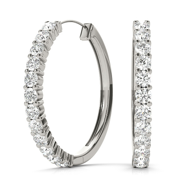 EARRINGS HOOP EARRINGS STANDARD HOOPS **40922-A