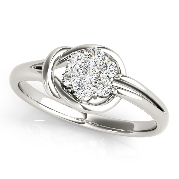 DIAMOND FASHION LOVE KNOT