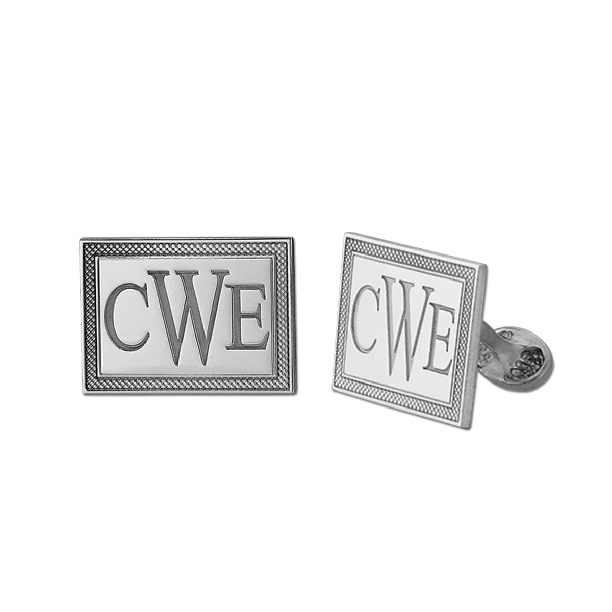 PICTURED AS CWE 14X21 MM CUFFLINK