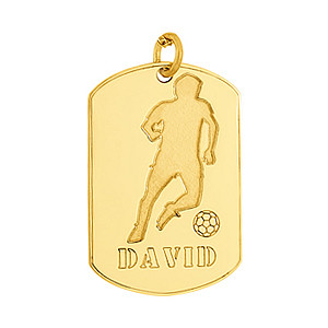 SOCCER PLAYER TAG