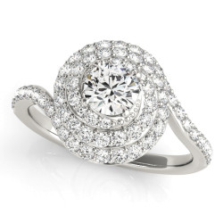 ENGAGEMENT RINGS HALO ROUND