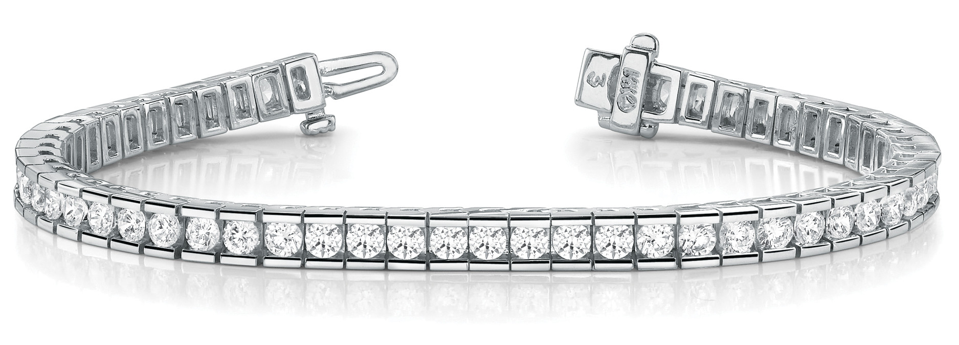 Bracelet In Line Channel Set