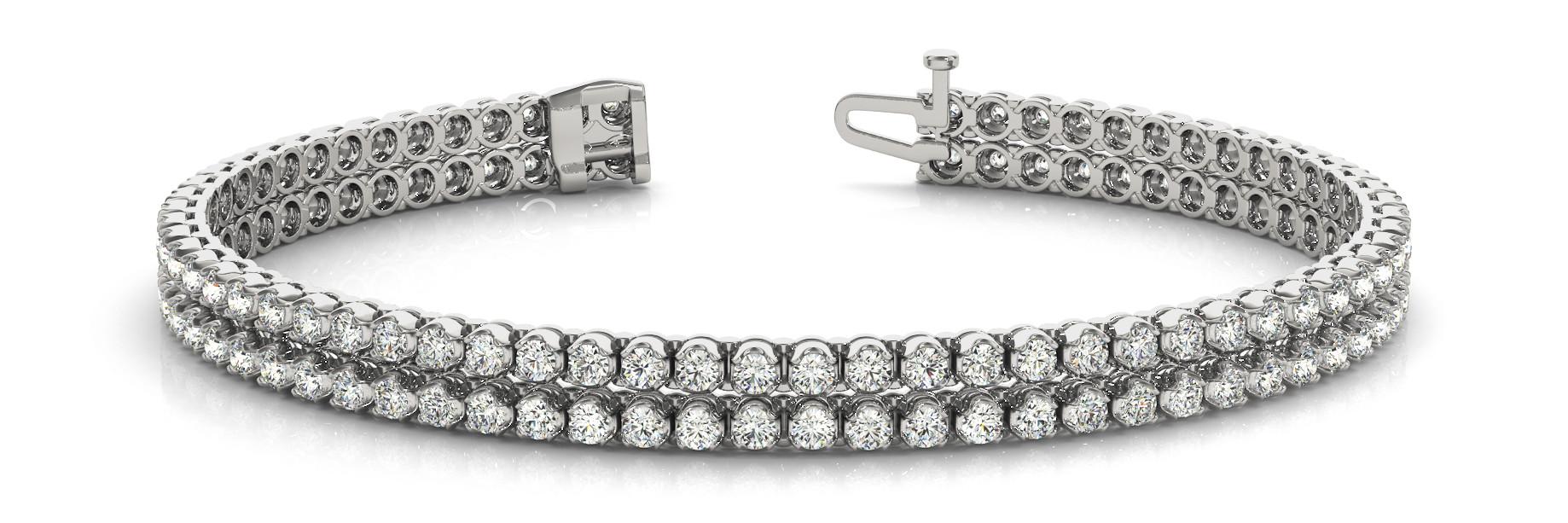 Bracelet In Line Multi Row