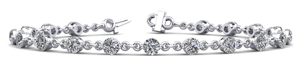 SINGLE PRONG BRACELET-UNDER-CLASP