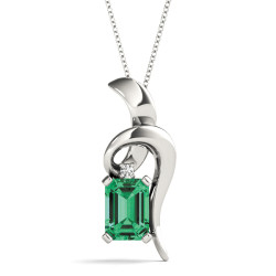 PENDANTS COLOR EMERALD