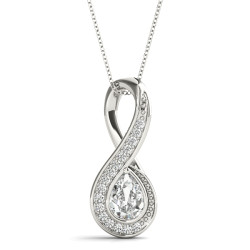 INFINITY SHAPED PENDANT PS