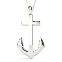 SOLID ANCHOR PENDANT