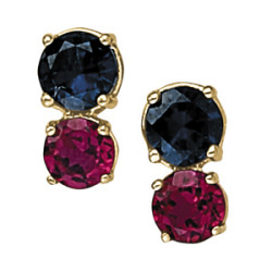EARRINGS COLOR ROUND