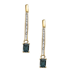 EARRINGS COLOR EMERALD