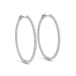 .75 INCH 4 PRONG ROUND HOOP