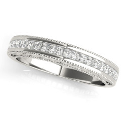 WEDDING BANDS FANCY SHAPE PRINCESS