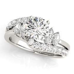 ENGAGEMENT RINGS FANCY SHAPE MARQUISE REMOUNTS