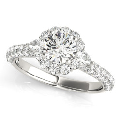 ENGAGEMENT RINGS PAVE MULT ROW
