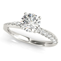 ENGAGEMENT RING SPLIT PRONGS
