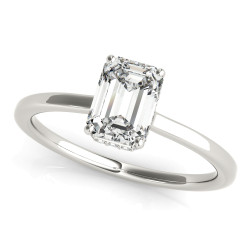 ENGAGEMENT RINGS EMERALD CUT