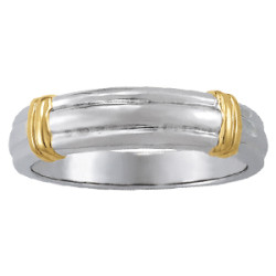 GENTS RING GOLD BANDS