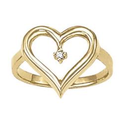 DIAMOND FASHION HEART RINGS MATCH 30385