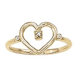 DIAMOND FASHION HEART RINGS MATCH 40126