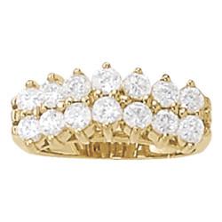 DIAMOND FASHION PYRAMID RINGS ** 80129