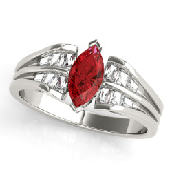 COLOR RINGS MARQUISE
