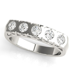 WEDDING BANDS BEZEL SET