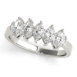 WEDDING BANDS FANCY SHAPE MARQUISE