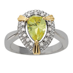 COLOR RINGS PEAR