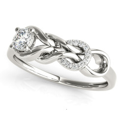 DIAMOND FASHION LOVE KNOT