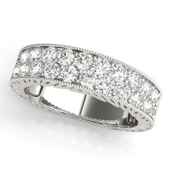 WEDDING BANDS PAVE