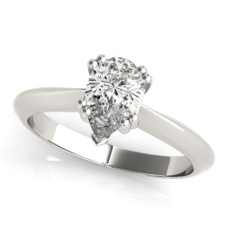 DOUBLE PRONG PS ENGAGEMENT RING