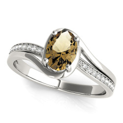 OVAL FASHION RING