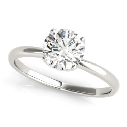ENGAGEMENT RINGS ROUND CENTER