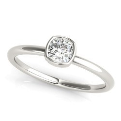 CUSHION SOLITAIRE STACK