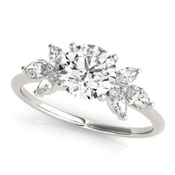 ENG RING, MARQUISE SIDES