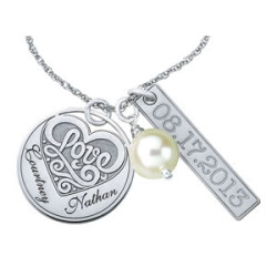 PERSONALIZED/MONOGRAM NECKLACE