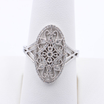 14KW DIAMOND RING