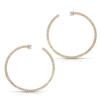 BREAKDOWN-14KT DIA EARRING