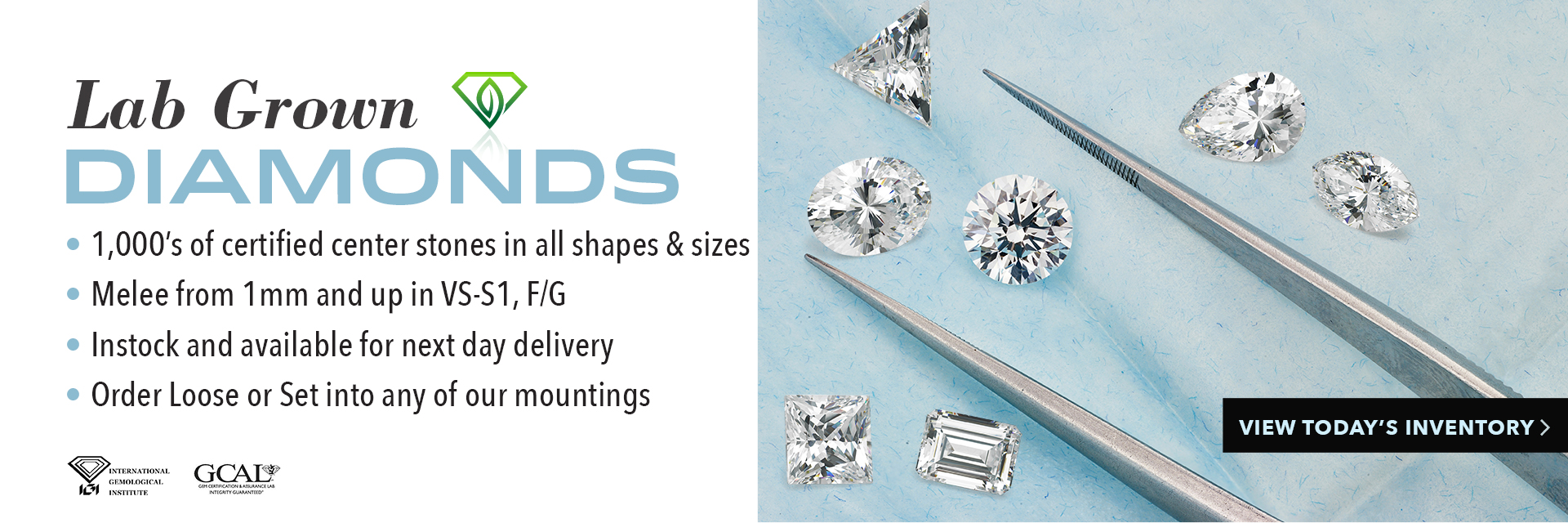 Mountings, Semi Mounts, Finished Jewelry & Custom Jewelry in